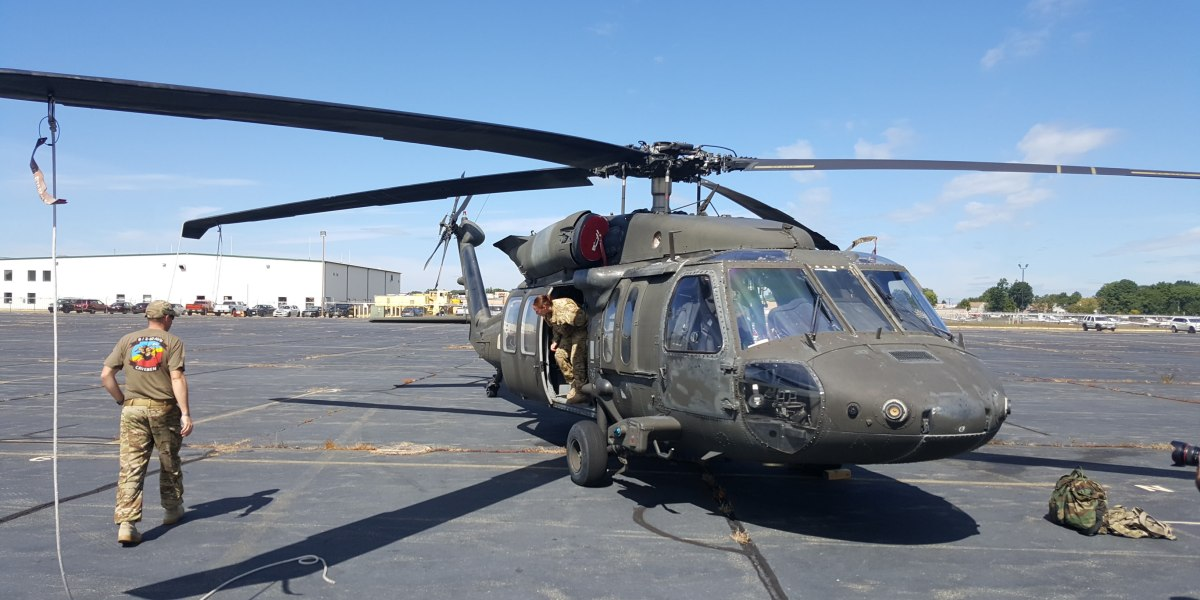 Black Hawk helicopter struck by drone over Staten Island NY 1 copy