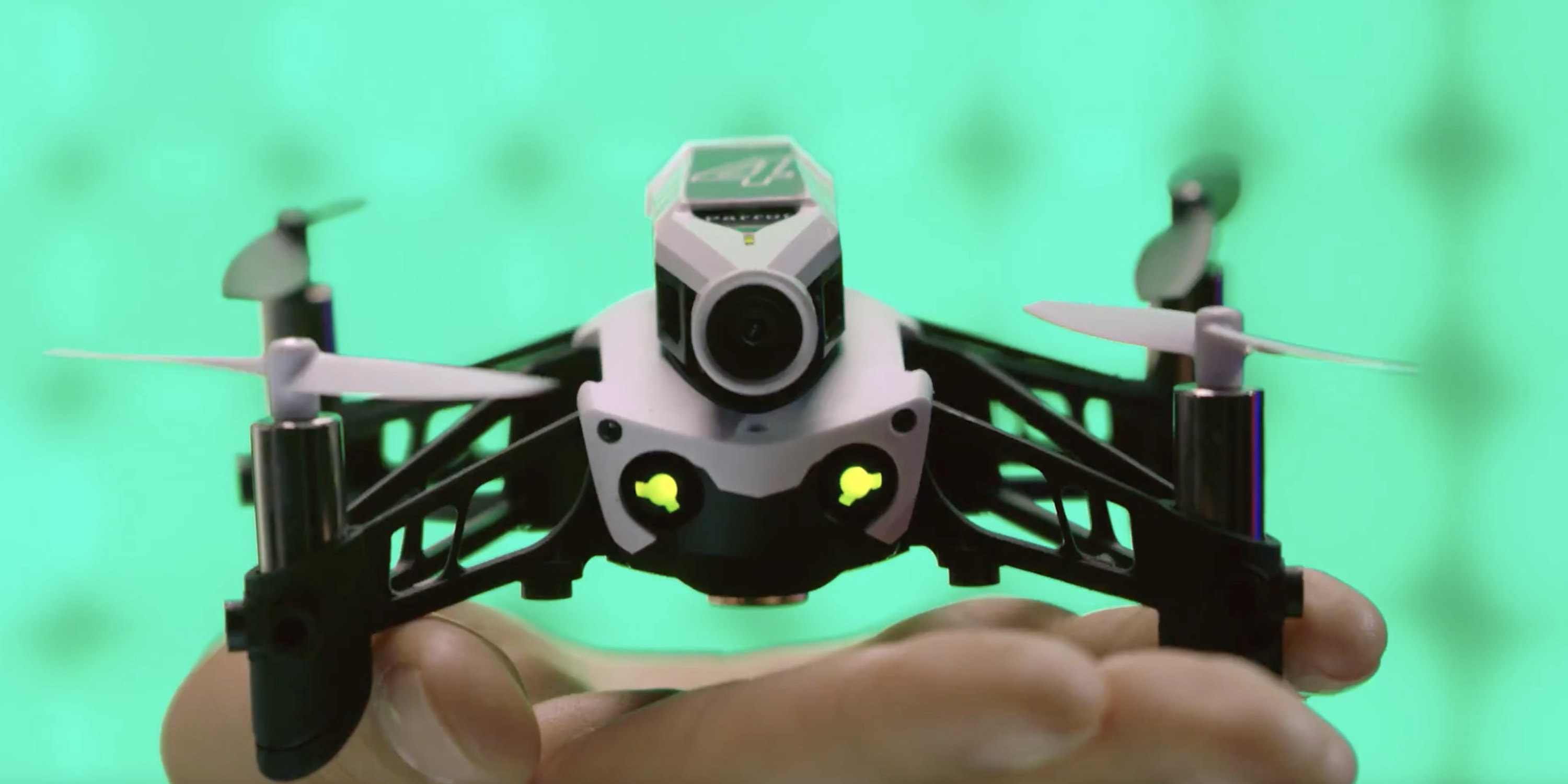 Front view with Miniture HD camera - Parrot Mambo FPV Ultra-Light agile and easy to pilot minidrone.003