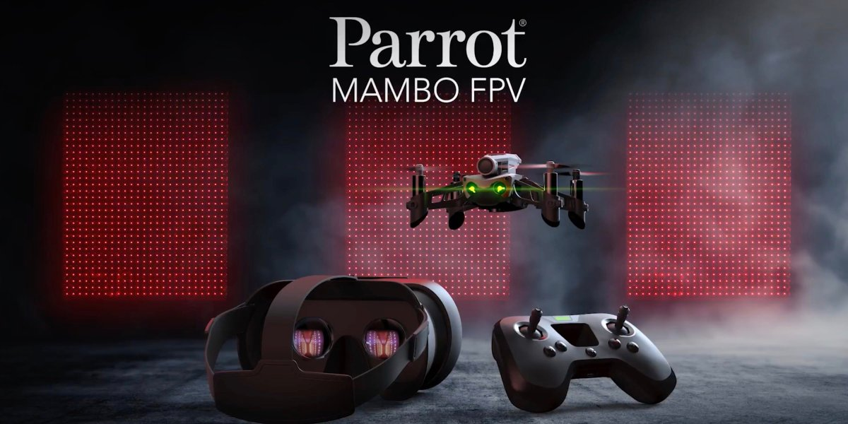 Parrot Mambo FPV Ultra-Light agile and easy to pilot minidrone.005
