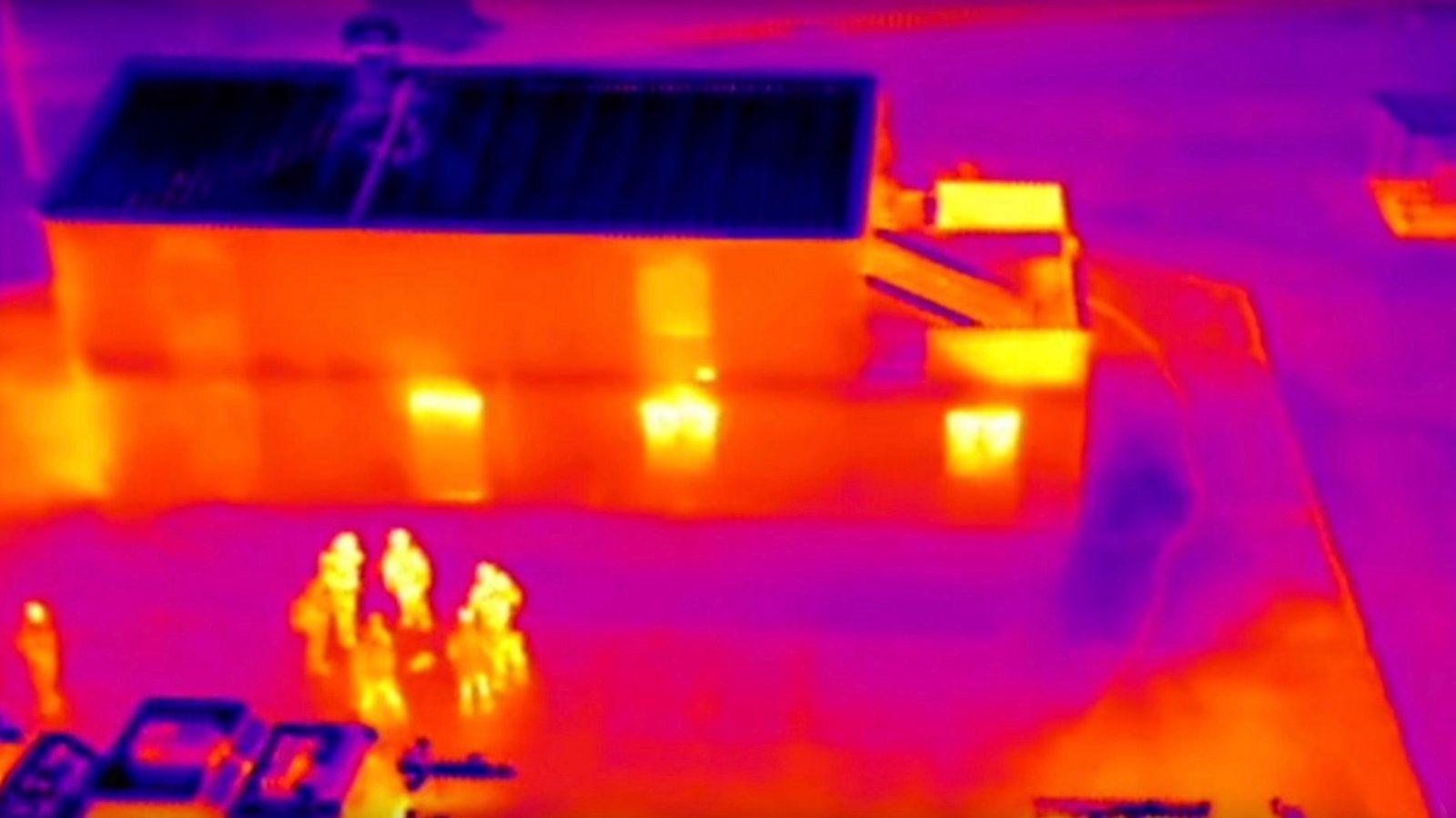 Dji Drones With Thermal Cameras Tested By Hong Kong Police