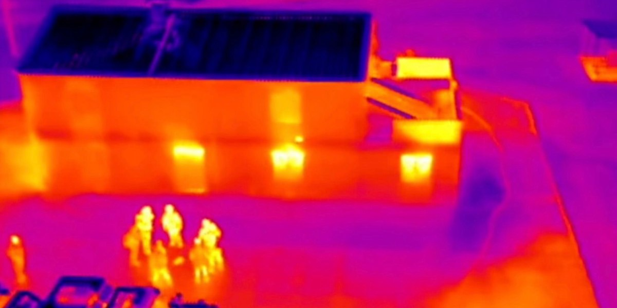 DJI drones with thermal cameras tested by Hong Kong police elite units Infrared 3
