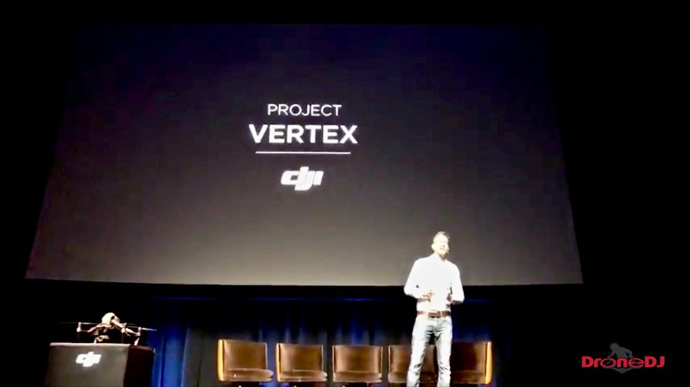Project Vertex is DJI software that aimed at improving the pre-production process in filmmaking by helping location scouts create models of a certain scene or location so that the shots and drone flight path can be planned and programmed in the model. Once you get back to the location for the actual shoot, the drone will automatically fly the programmed flightpath and you will get the shots you need.