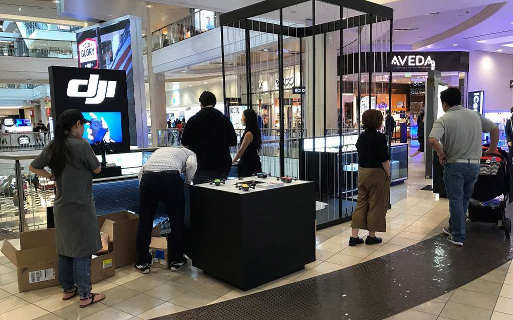 DJI opens second San Francisco store at the Westfield mall 2 copy