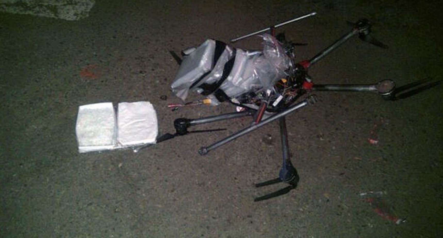 Drone smuggles meth across the border