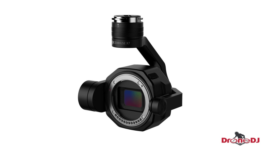 DroneDJ DJI Zenmuse X7 DL-S 16mm F2.8 ND ASPH Lens built-in ND4 filter 4