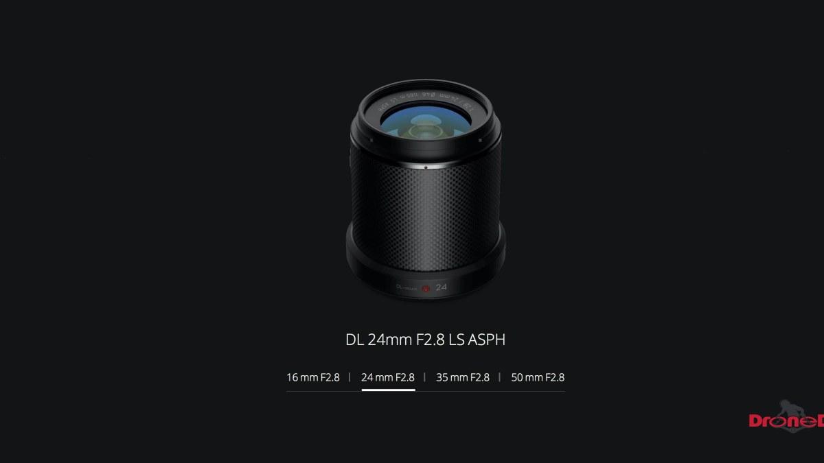 DroneDJ DJI Zenmuse X7 DL 24mm F2.8 LS ASPH Leaf Shutter Lens Feature