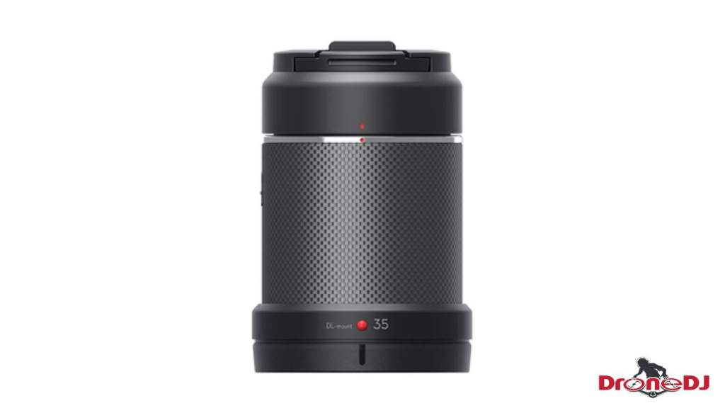 DroneDJ DJI Zenmuse X7 DL 35mm F2.8 LS ASPH Leaf Shutter Lens 1