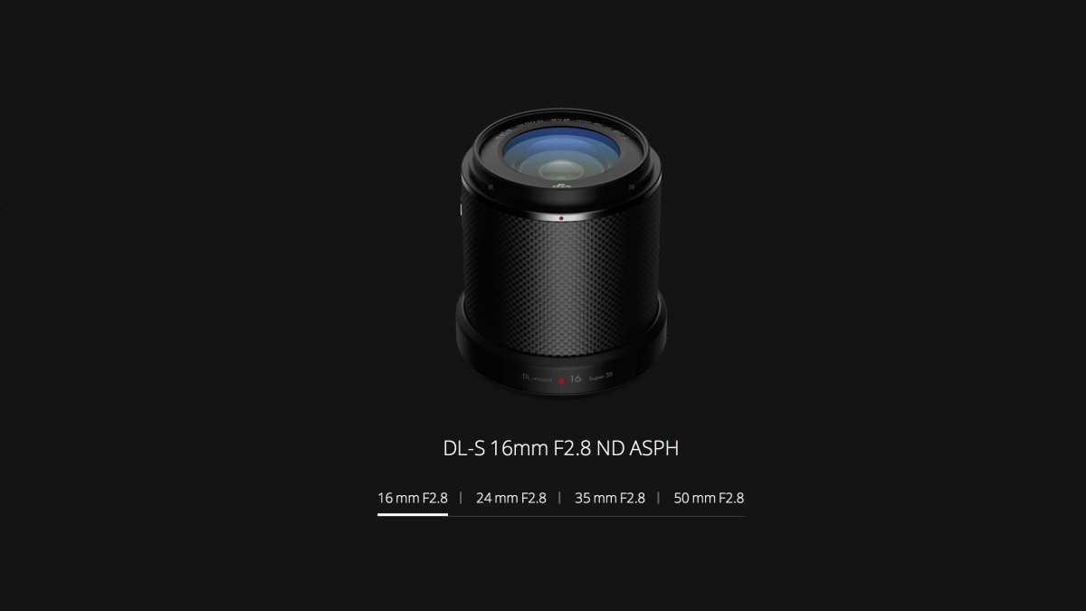 DroneDJ DJI Zenmuse X7 DL-S 16mm F2.8 ND ASPH Lens built-in ND4 filter Feature
