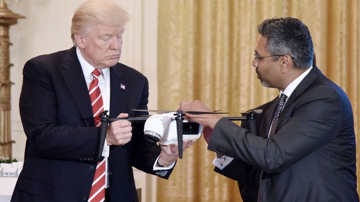 Drones are poised to take off under President Trump's new plans