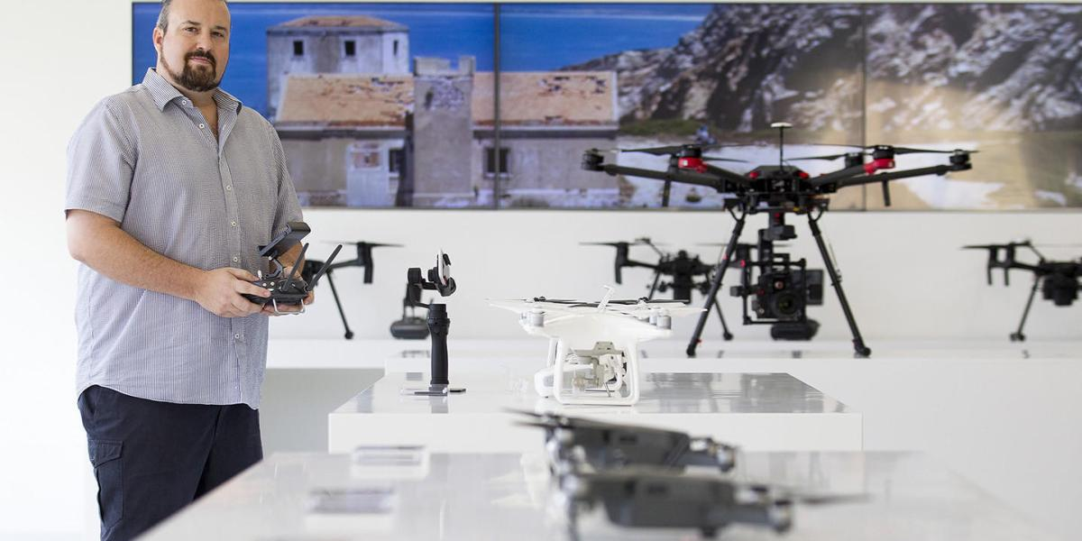 New DJI drone store opening today in Costa Mesa, Orange County