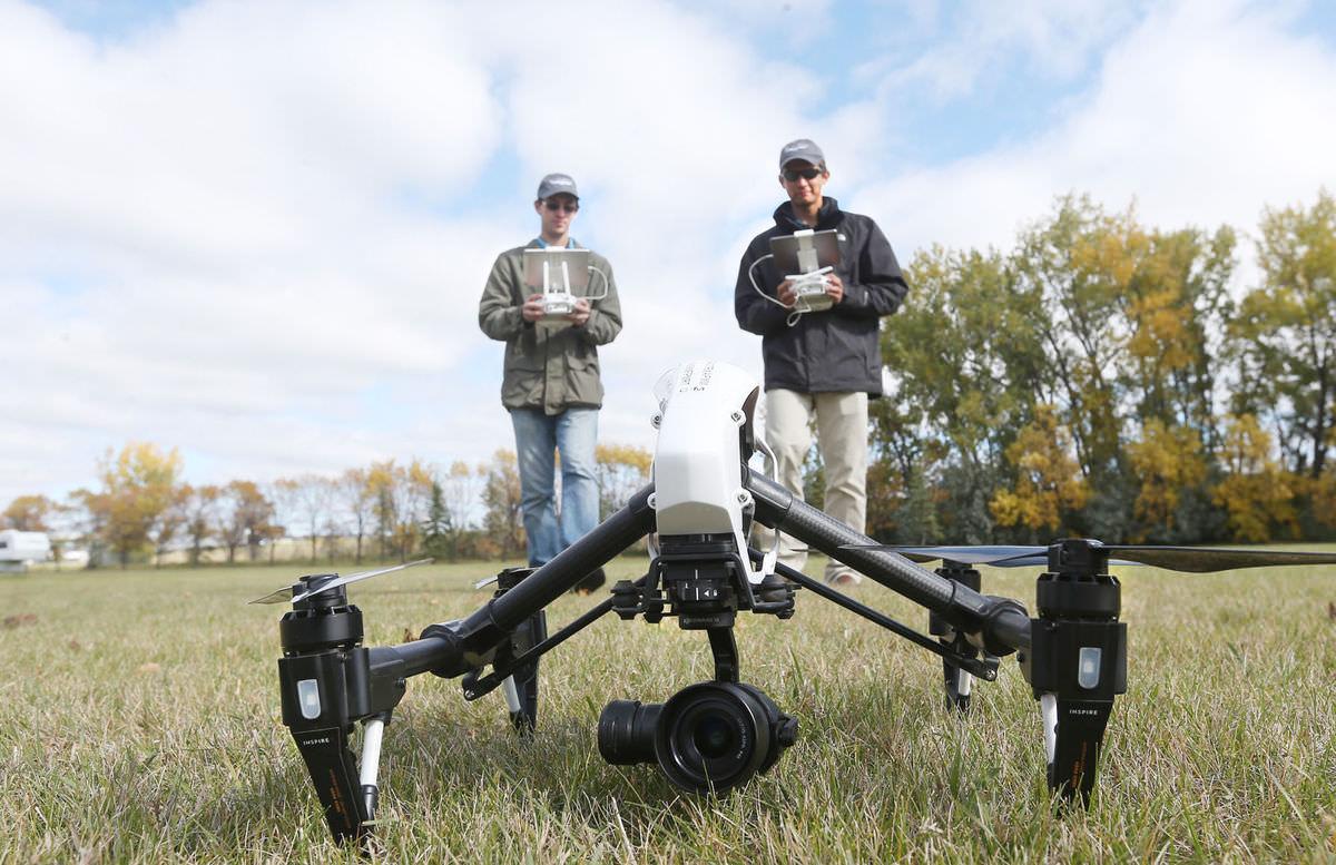 North Dakota commercial drone registrations quadruple 2