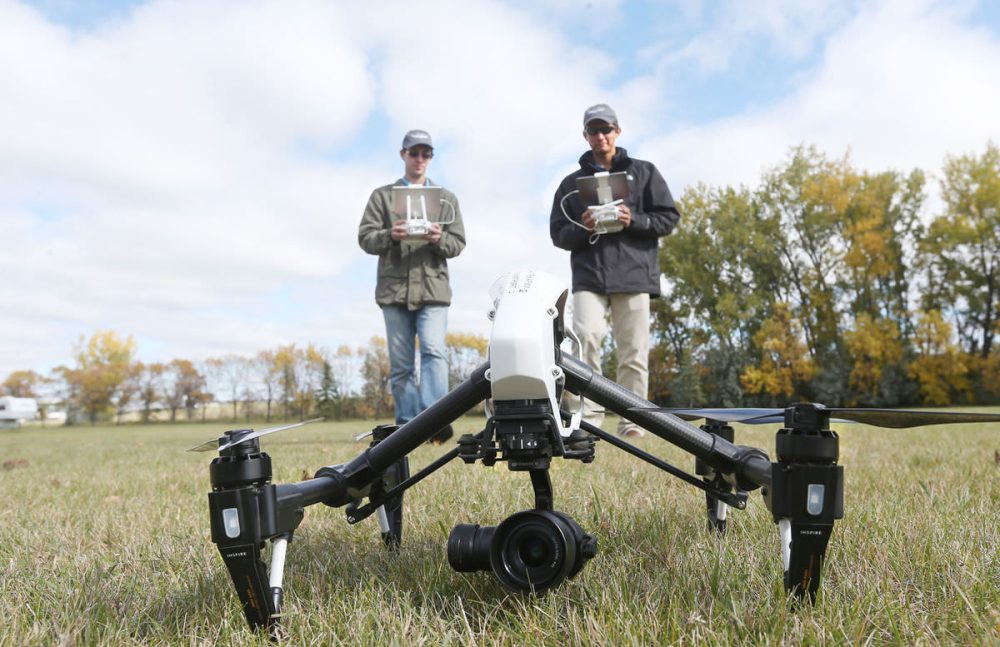 North Dakota commercial drone registrations quadruple 2