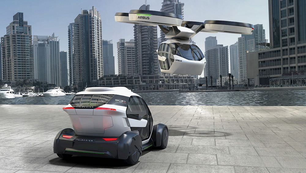 Flying taxi on track to make debut flight in 2018 according to Airbus