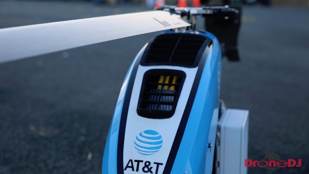 ATT deploys helicopter drone to restore cellular service in Puerto Rico