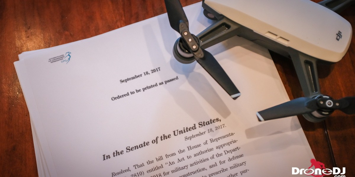 Congress may restore drone registration vacated by court