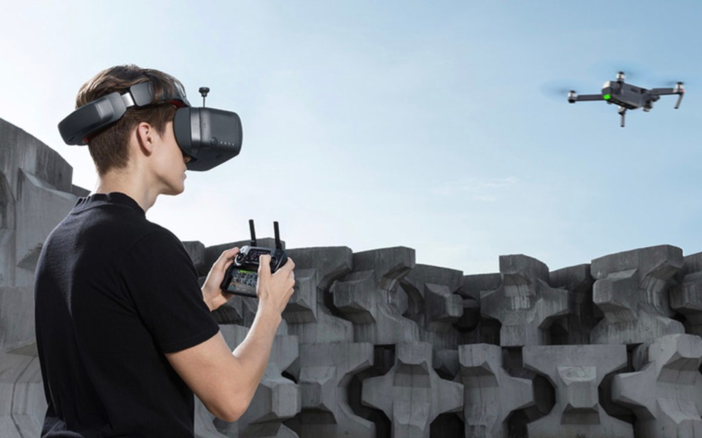 DJI releases more photos of their new Goggles RE