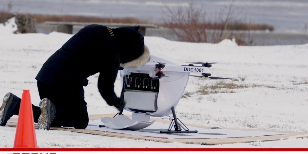Drone deliveries successfully tested in Northern Canada