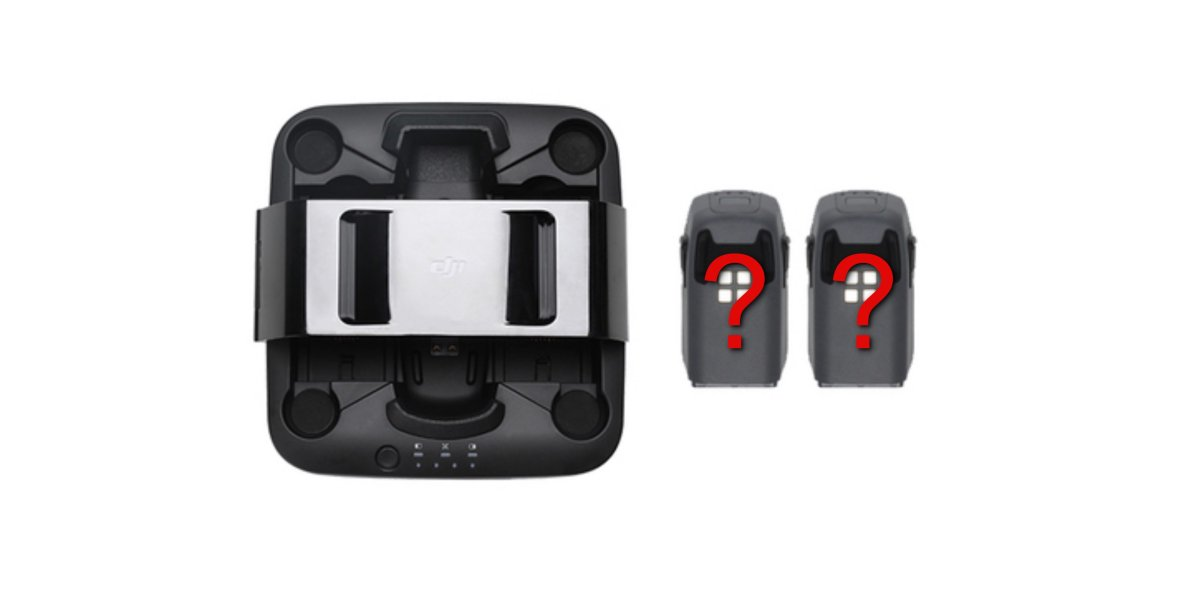 New Spark Portable Power Pack - DJI website is unclear about what is in the box
