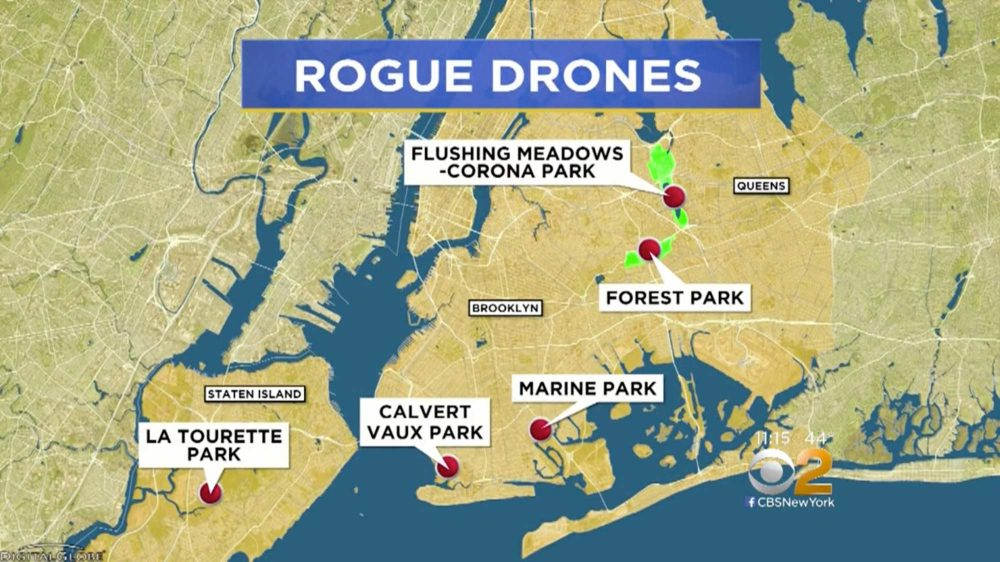 The five parks in New York where you can legally fly your drone.