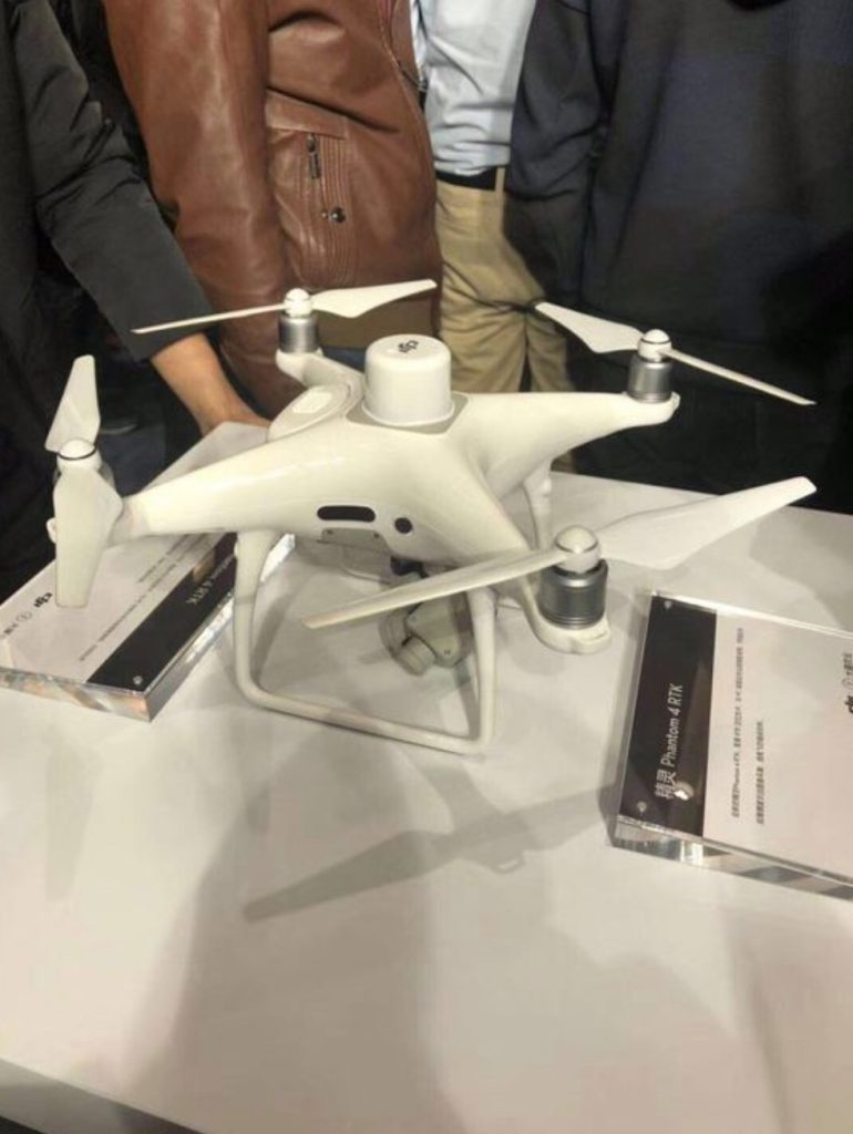 New DJI Phantom 4 RTK model spotted - DroneDJ