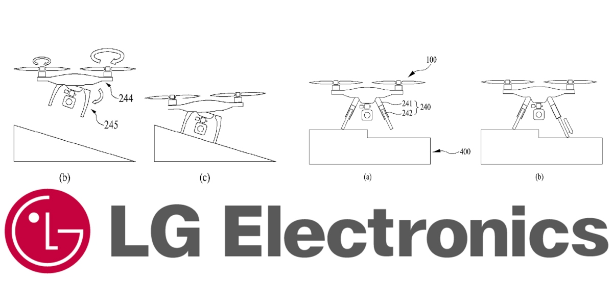 New patent shows LG Electronics may be about to launch a drone