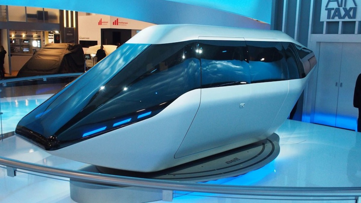 Bell Helicopter and Uber show passenger drone at CES 2018 3 copy