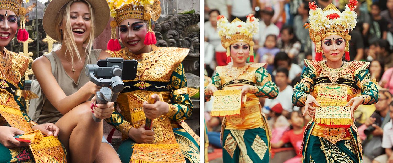 DJI Mavic Air and Osmo Mobile 2 seen in Bali 2