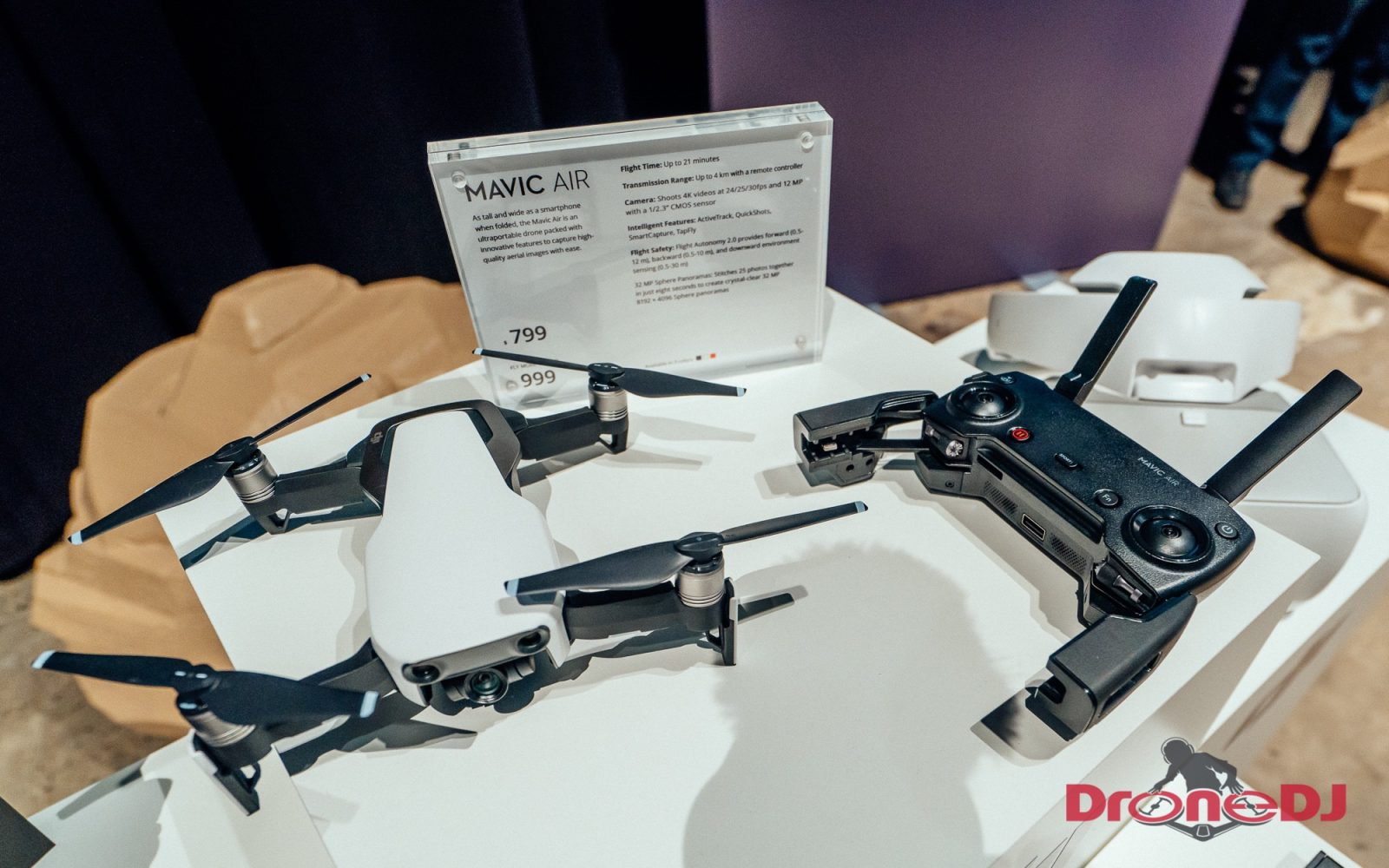 ded67f98081 On January 23rd, 2018, DJI introduced their all-new DJI Mavic Air during an  event in New York City. The Mavic Air currently is DJI's smallest, most  portable ...