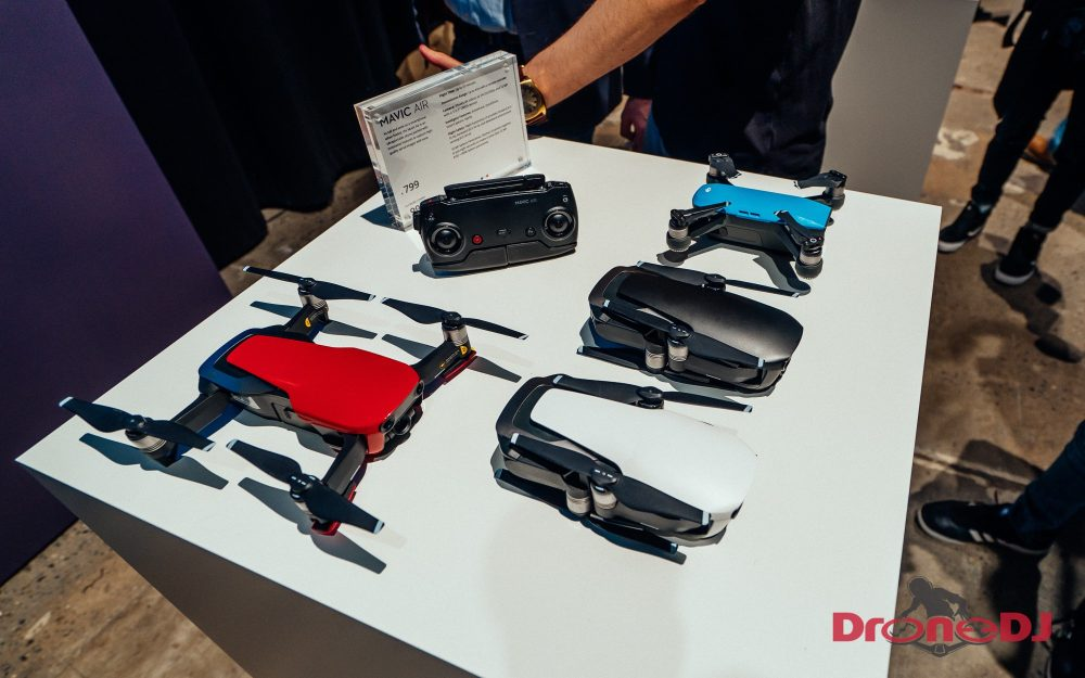 Official Announcement DJI Mavic Air Specifications Confirmed