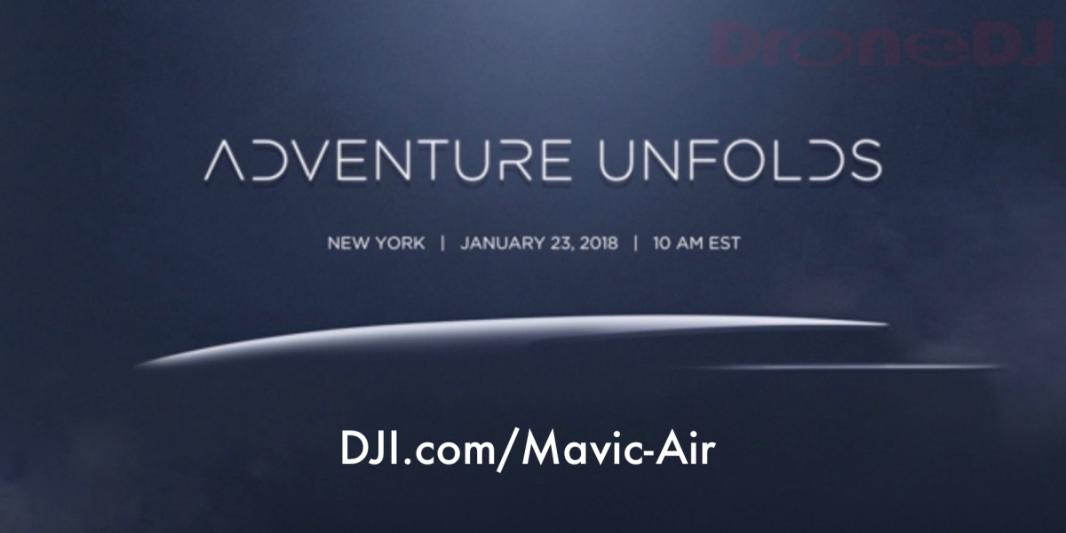 DJI Mavic Air name leaked by DJI.com website