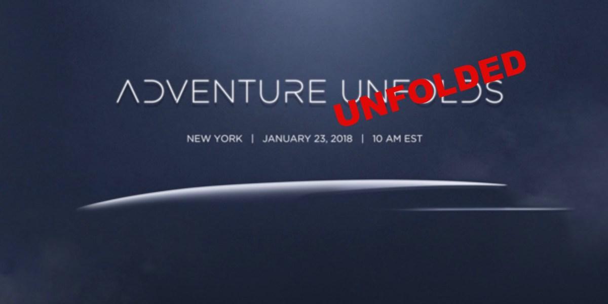 Adventure unfolded? DJI to introduce the Mavic Air