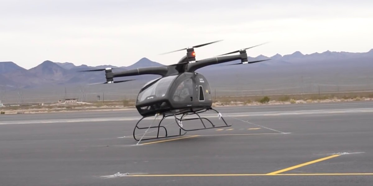 Workhorse Surefly drone did not fly at CES 2018 because of drizzle