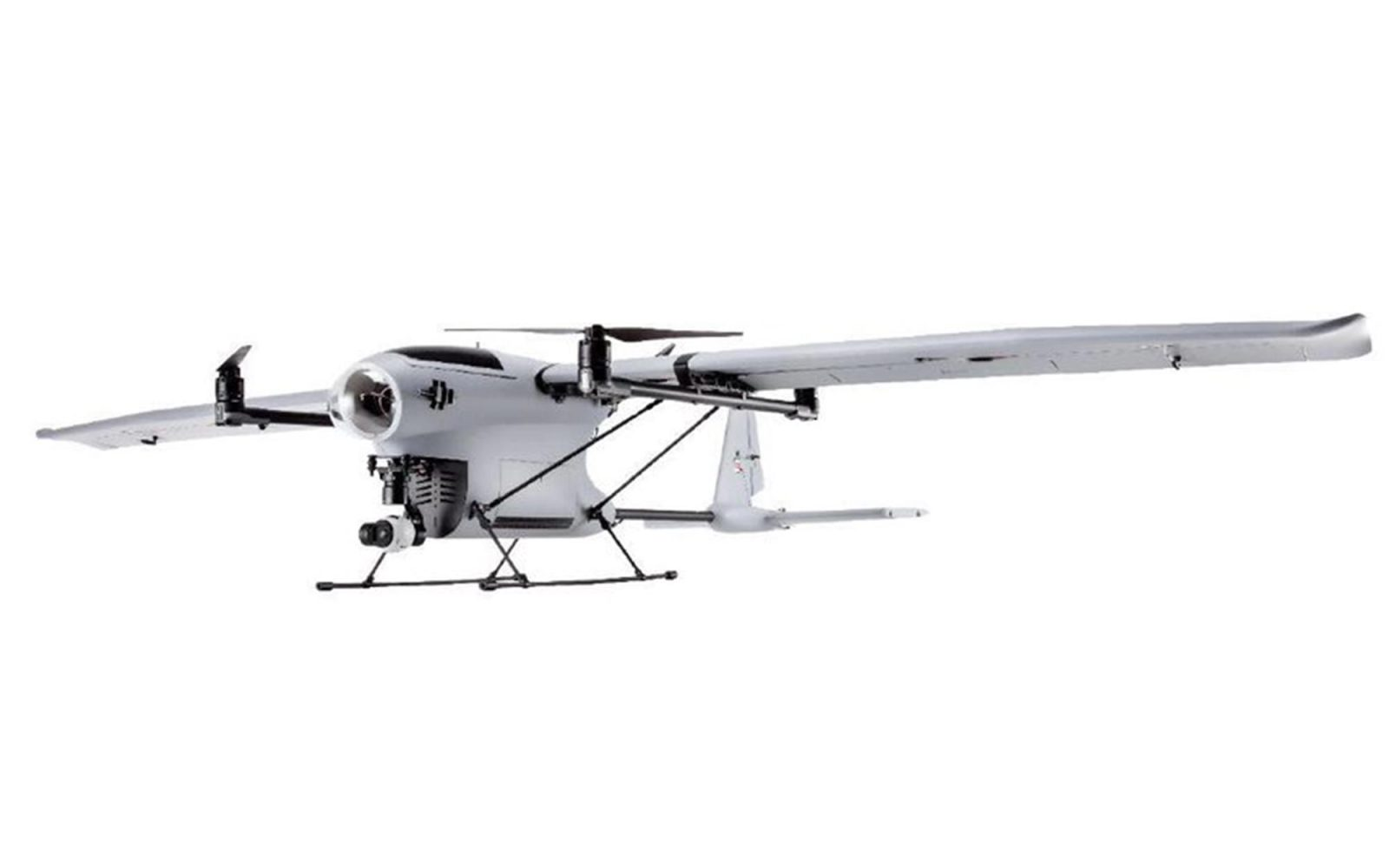First photos and specs appear of DJI's VTOL fixed-wing