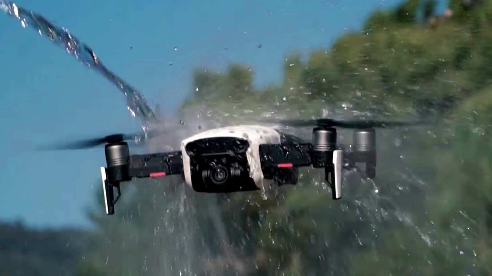 Mavic Air Survives Severe Punishment In A Series Of Brutal Tests Video