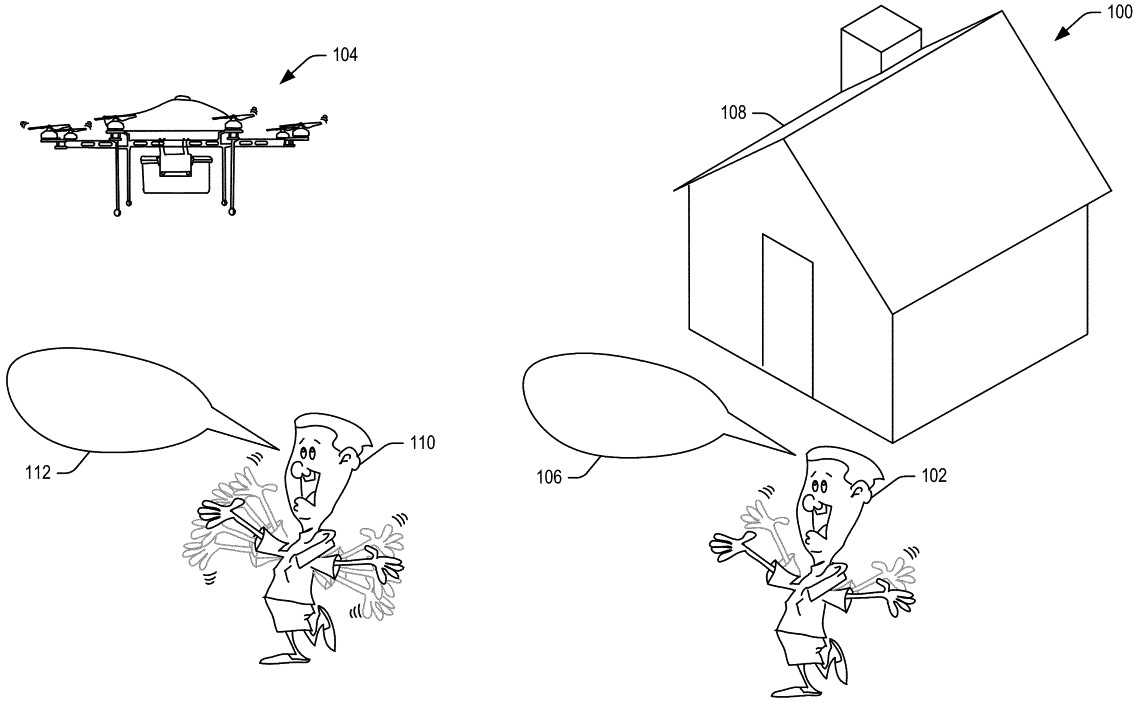 Amazon drone delivery patent dronedj