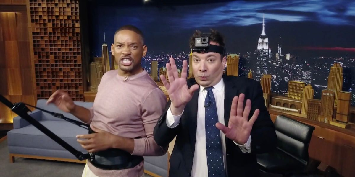 DJI Mavic Pro makes appearance on Tonight Show with Jimmy Fallon and YouTube star Will Smith