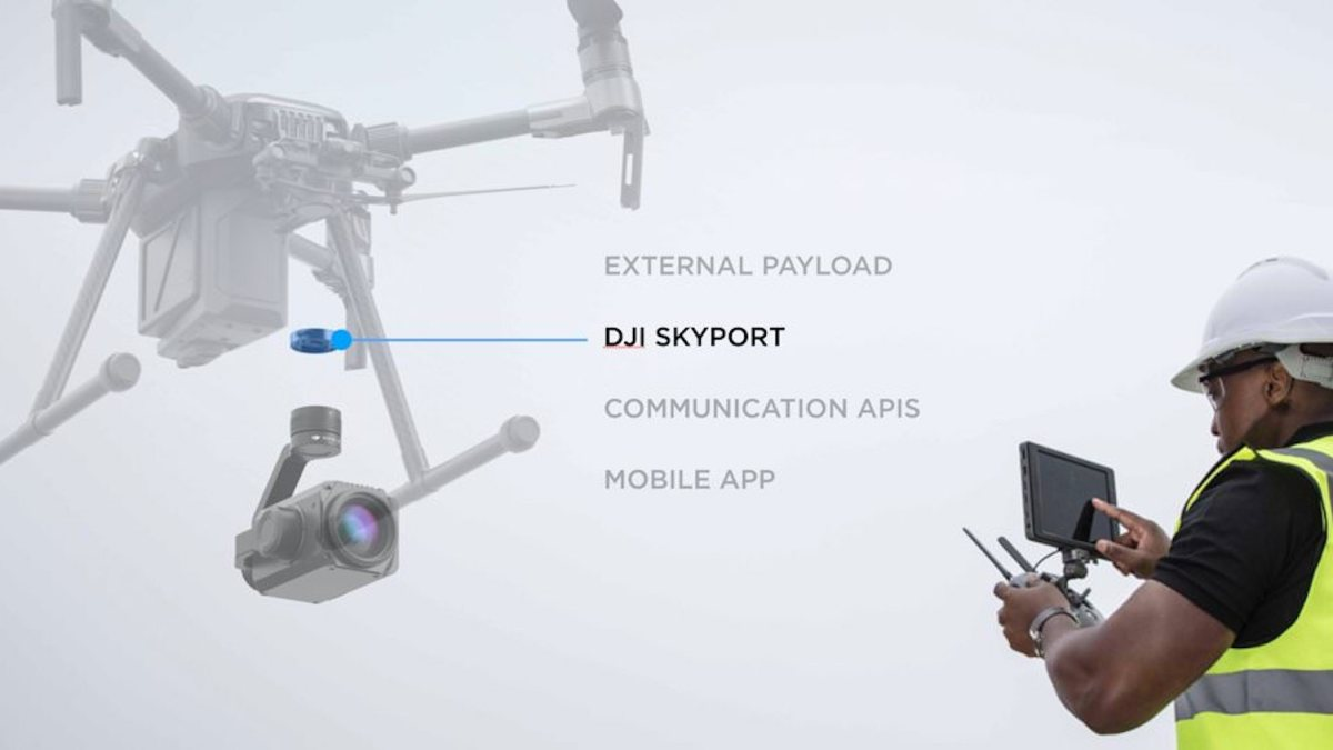 DJI onboard SDK and Skyport adapter 4