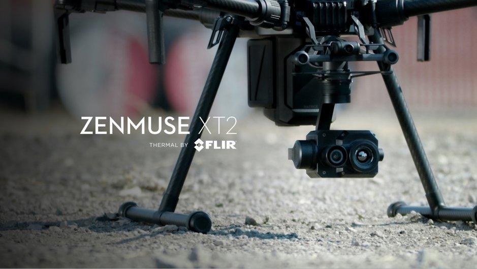 DJI Zenmuse XT2 in partnership with Flir