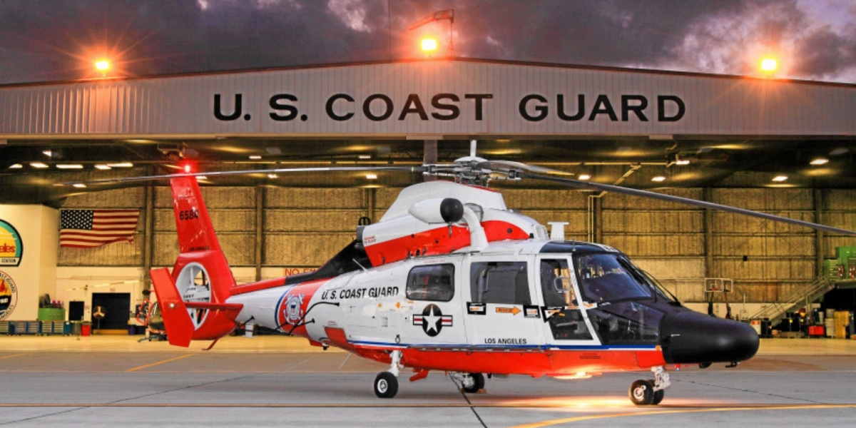 Drone came within 50 feet of hitting a MH-65 Dolphin Coast Guard helicopter