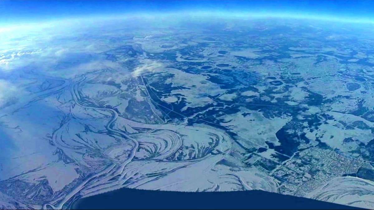 Russian sends his drone up to 33,691 feet