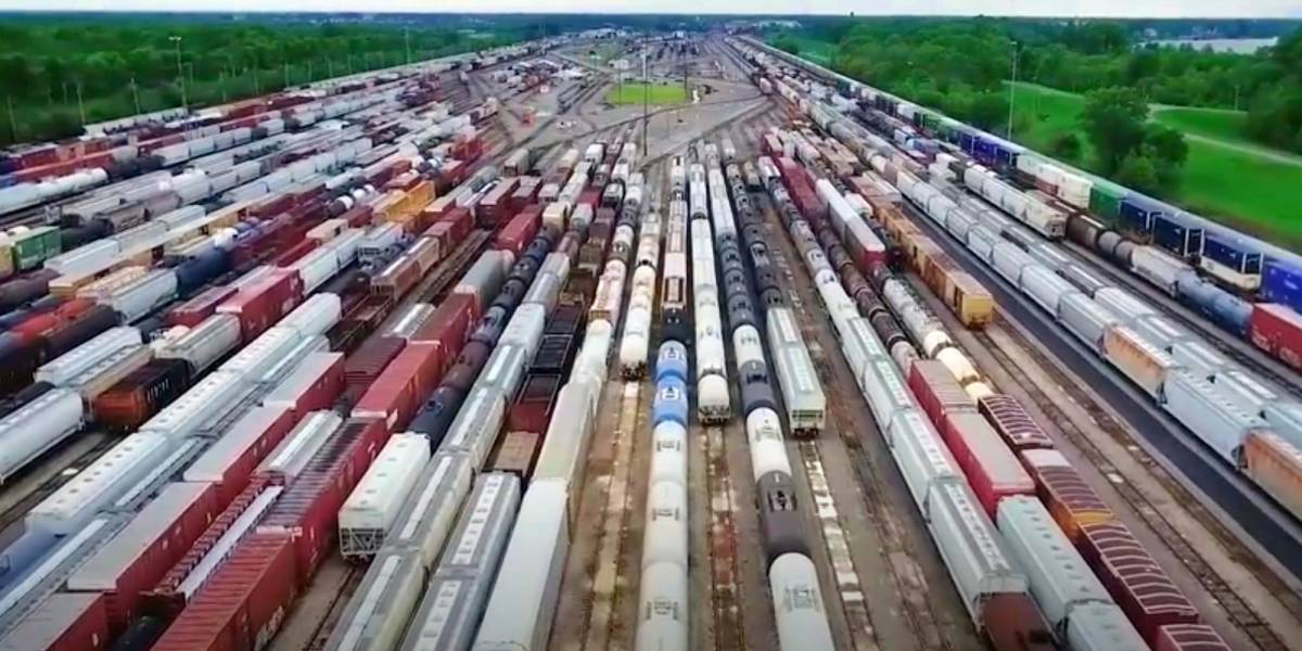 Union Pacific uses drones to spy on their workers