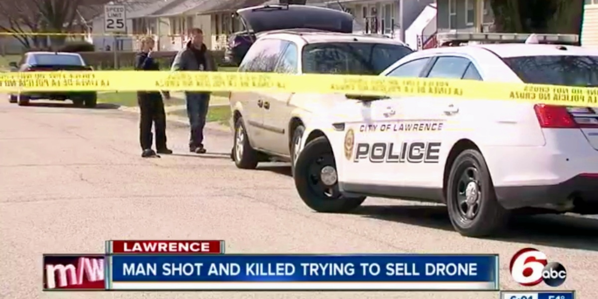 Drone transaction turns deadly as the seller gets shot