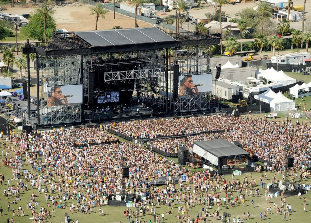 Police uses drones to increase security at Coachella Valley Music and Arts Festival