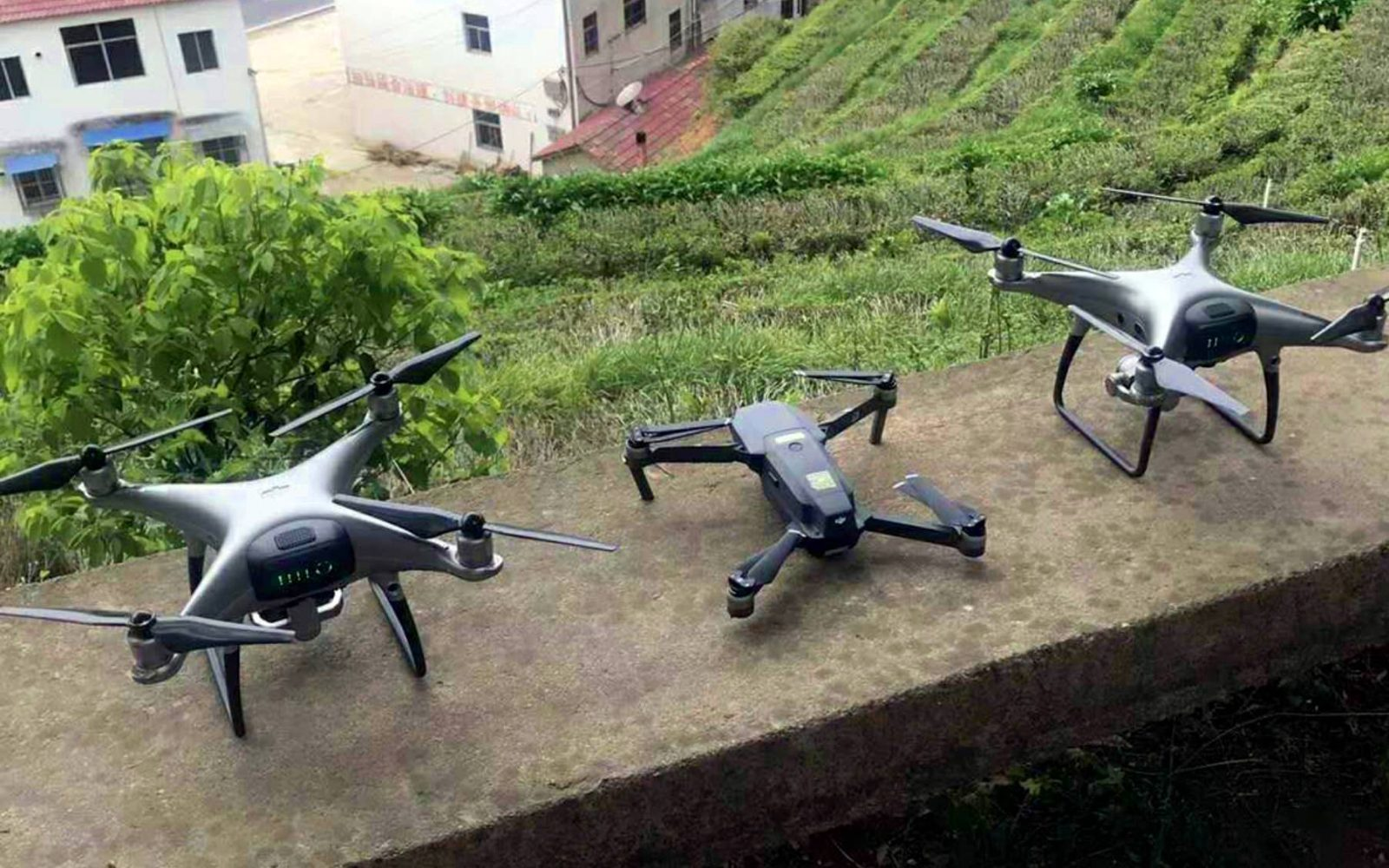Additional Photos Of The New Phantom 5 Or 4 Pro V20 Show 2 Drones Prototypes Real Deal