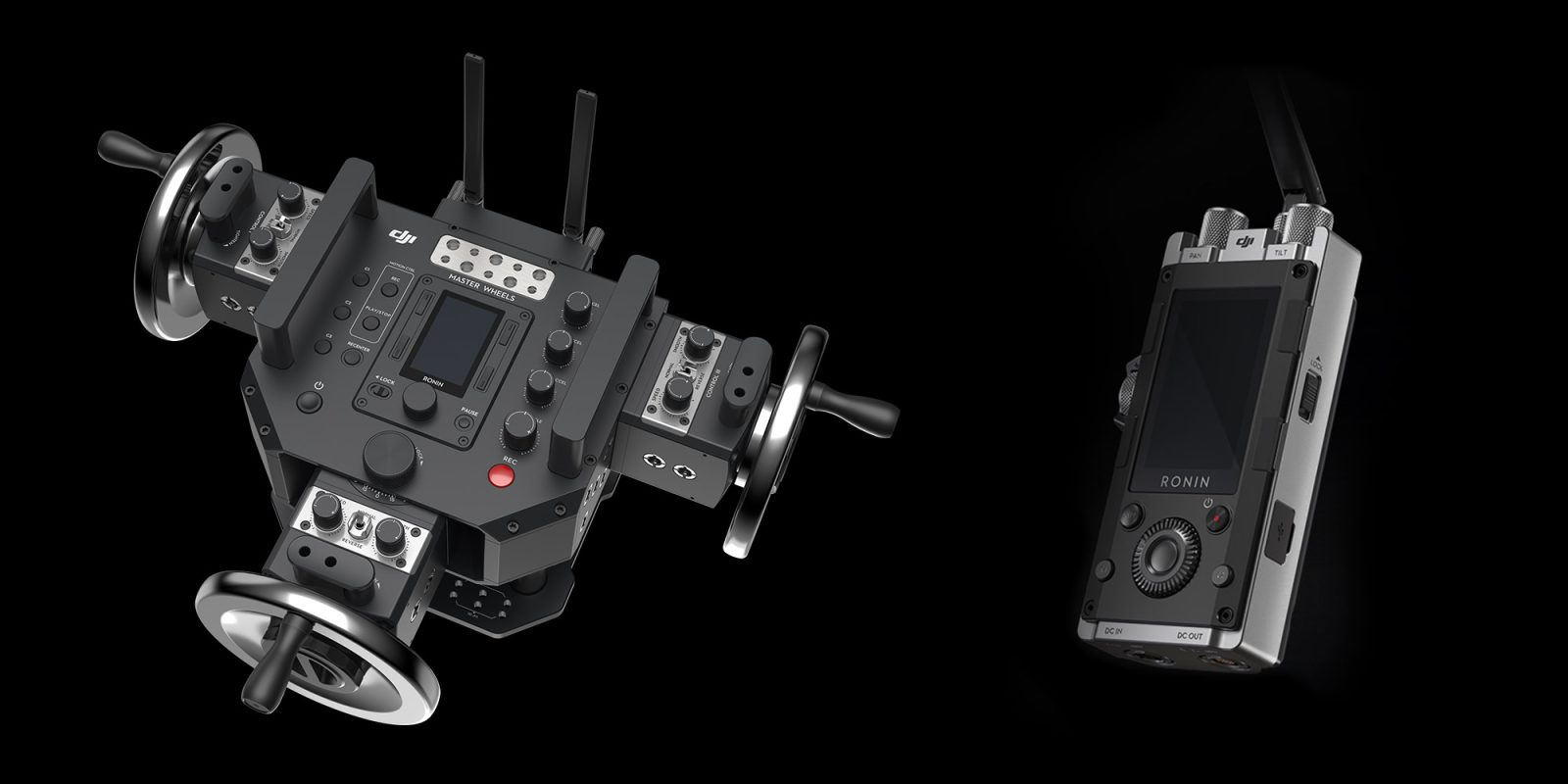DJI Introduces The Master Wheels And Force Pro At NAB 2018 No News Of New Drones