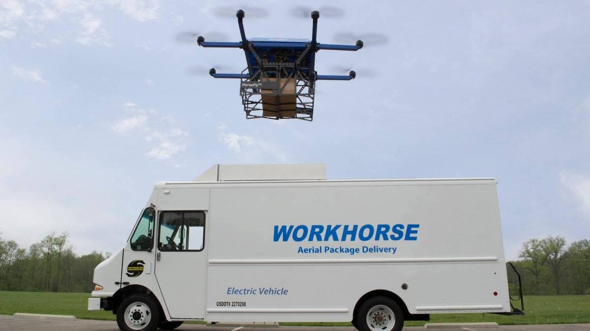 Workhorse starts autonomous drone delivery program HorseFly in Ohio