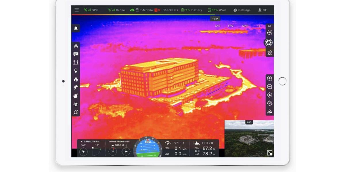 FLIR Systems and DroneSense