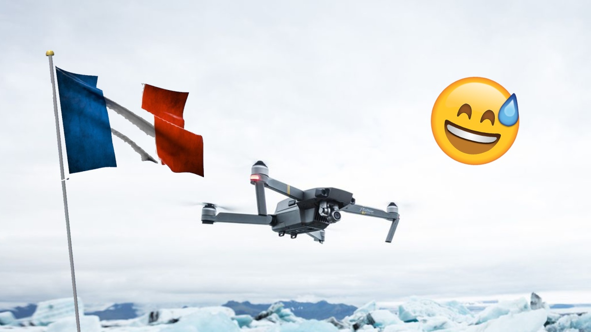 New proposed French drone regulation requires remote drone identification