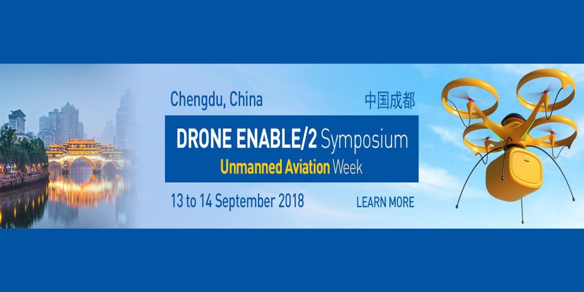 ICAO Drone Enable Symposium in Chengdu China
