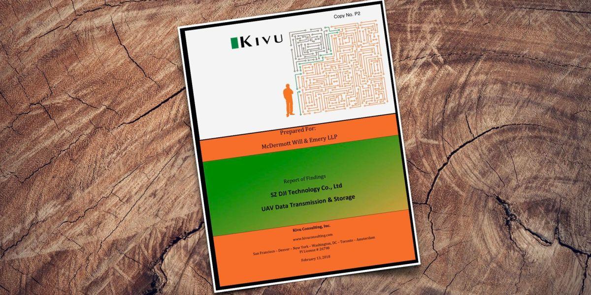 Kivu Report - DJI - Data Security and Storage